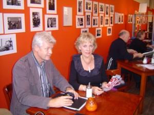 foto Warmond met Maarten 't Hart